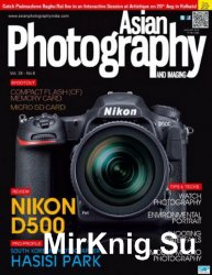 Asian Photography August 2016