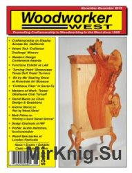 Woodworker West - November/December 2016