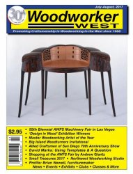 Woodworker West — July-August, 2017