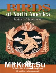 Birds of North America Realistiс 3D Scrollsaw Art