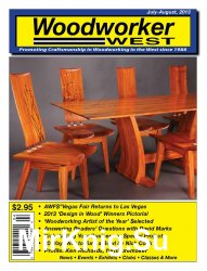 Woodworker West July-August 2013