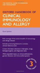Oxford Handbook of Clinical Immunology and Allergy, Third edition