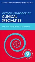 Oxford Handbook of Clinical Specialties, 9th Edition