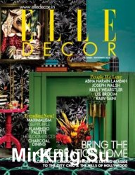Elle Decor India - October/November 2018
