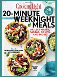 COOKING LIGHT 20-Minute Weeknight Meals