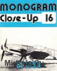 Bf 109 K (Monogram Close-Up 16) - «ВОЕННАЯ ИСТОРИЯ»
