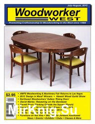 Woodworker West July-August 2015 - «Журналы»