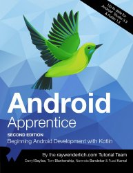 Android Apprentice (2nd Edition)