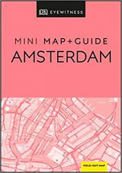DK Eyewitness Amsterdam Mini Map and Guide