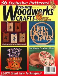 Creative Woodworks & Crafts - November 2009